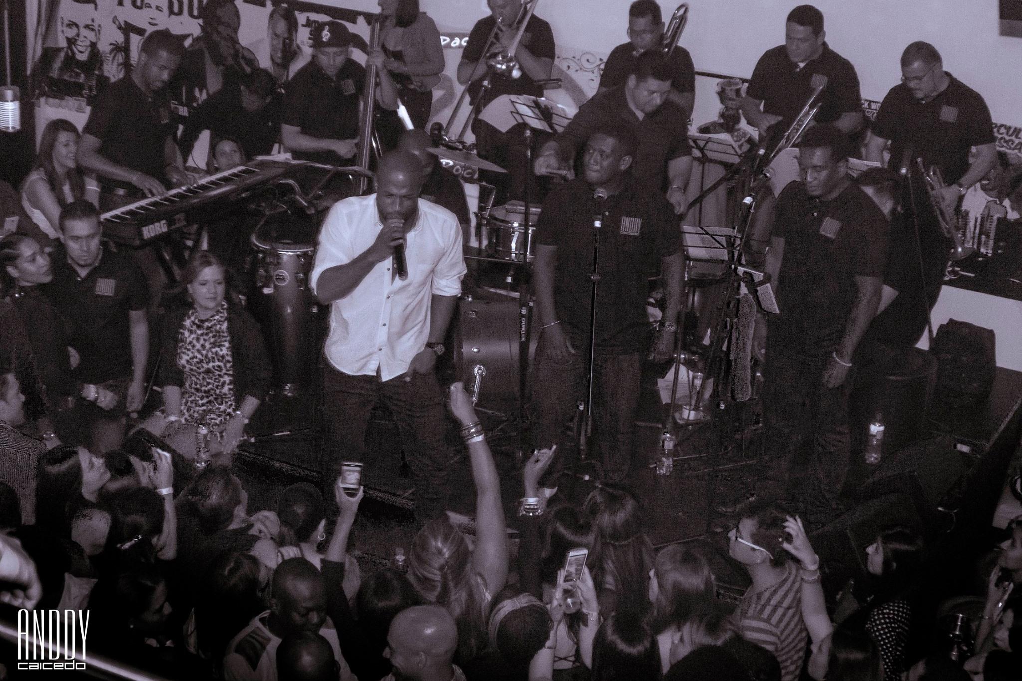 Anddy Caicedo orquesta salsera Bogotá