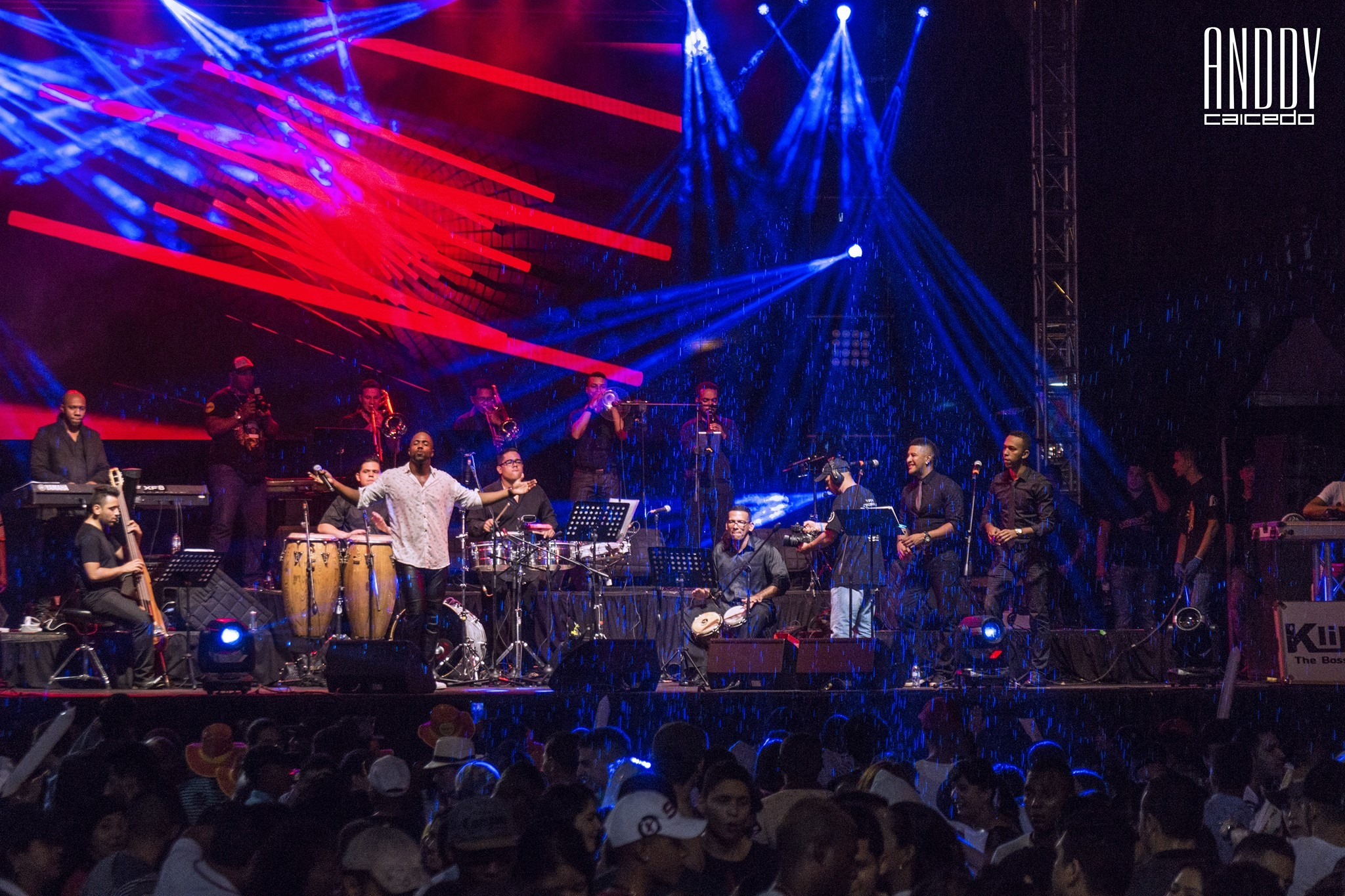 Orquesta de salsa para eventos