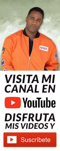 Suscríbete a mi canal de YouTube
